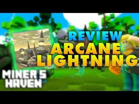 Miners Haven: Arcane Lightning (OP UPGRADER) (ADVANCED REBORN ITEM)