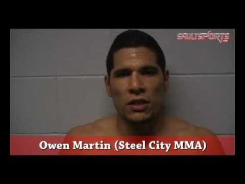 Owen Martin at Wreck MMA (SSM) Post Fight Interview