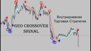 Форекс стратегия Geo Crossover Signal.