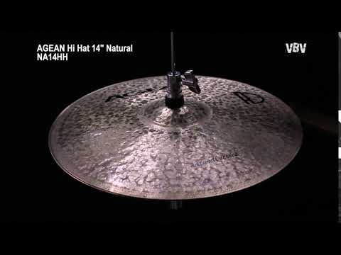 "14"" Hi Hat Natural video"