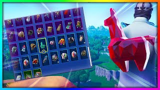 "NEW ""RUBY CRYSTAL LLAMA"" - ALL Skin Combinations in Fortnite (144+ Skins)"