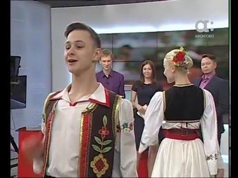 Танцуют артисты ансамбля танца Сибири им. М. Годенко