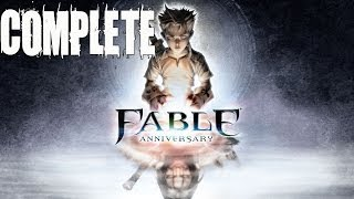 Fable Anniversary Complete Walkthrough HD Gameplay Lets Playthrough (Xbox 360)