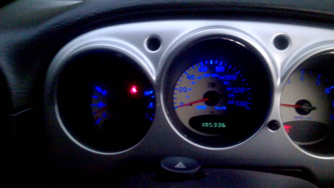New Dashboard Lights In The Pt Cruiser