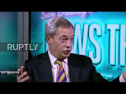 UK: Farage explains his Trump dinner on RT UK exclusive