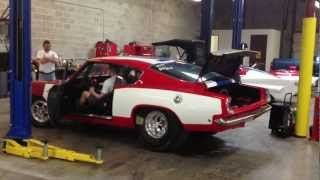 Charlie Blankenship's 1968 Plymouth Barracuda 426 Factory Race Car Startup