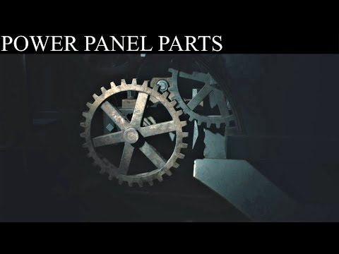 Resident Evil 2 Remake: Find Power Panel Parts (Generator Room & Clock Tower)