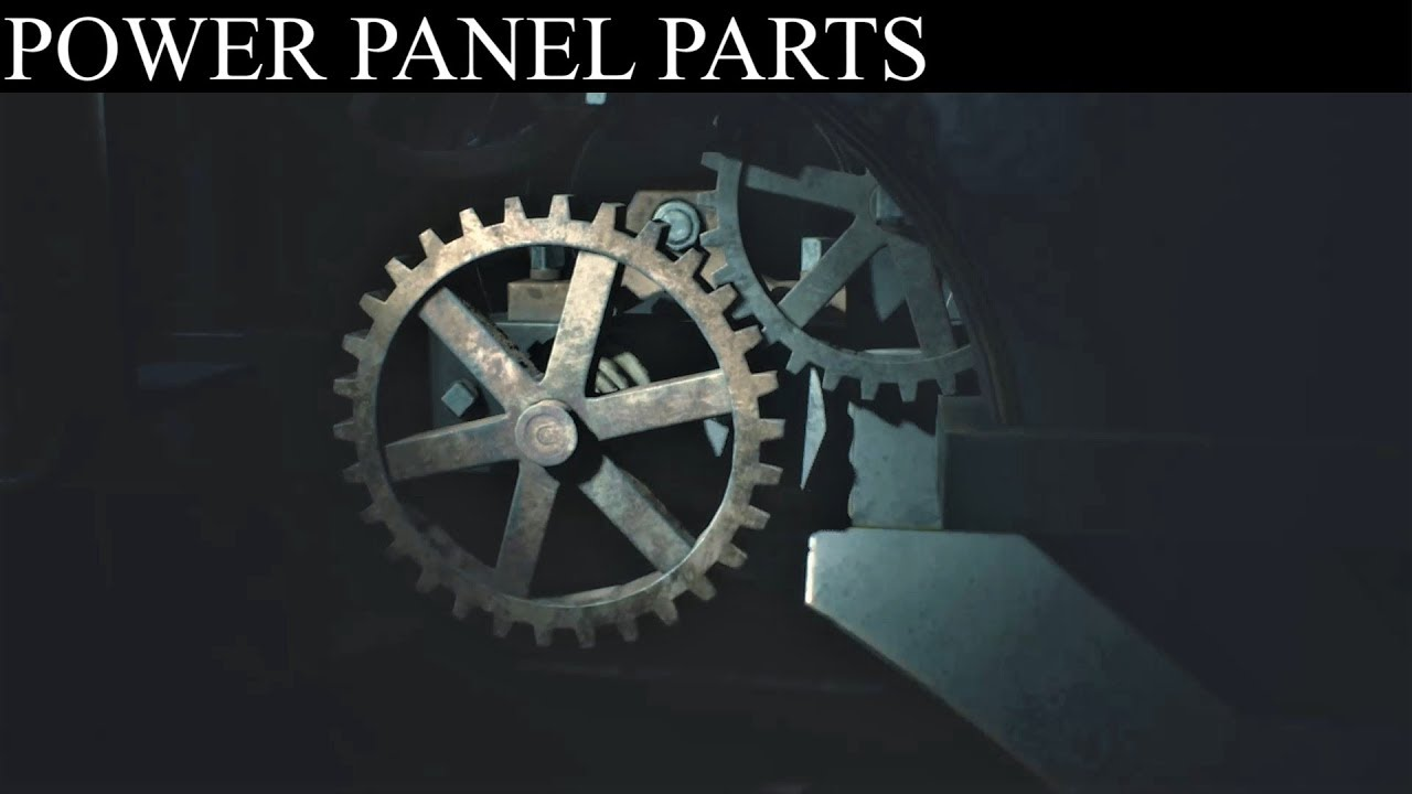 Resident Evil 2 Remake Find Power Panel Parts Generator Room Clock Tower Youtube