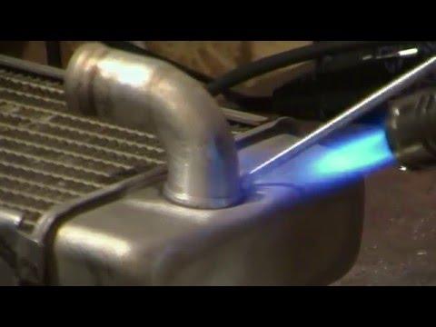 BEST Welding/Repair Alum Radiator with BRAZING DURAFIX rods