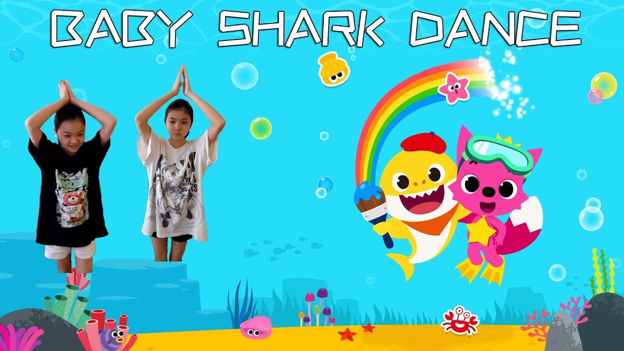 Baby Shark Challenge挑战跳鲨鱼舞体操儿童儿歌唱 碰碰狐 Kids Song Baby Shark ...