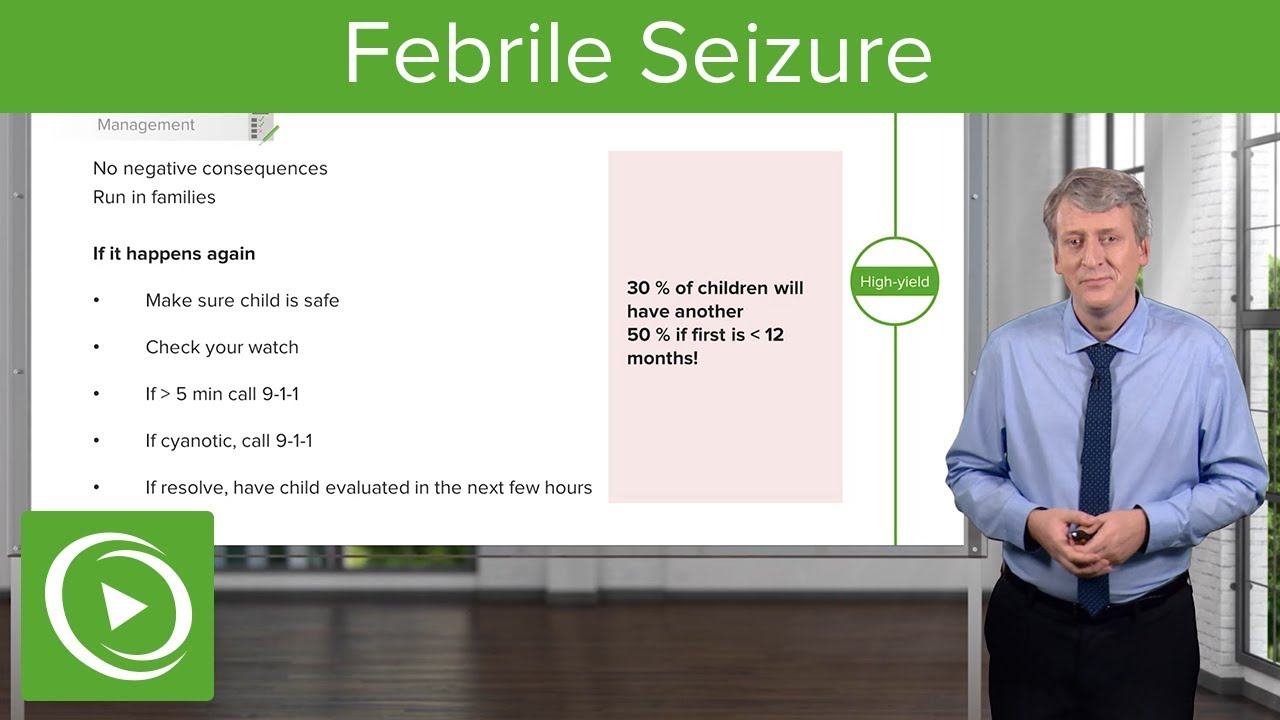 Febrile Seizure – Pediatrics | Lecturio
