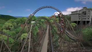 Time Traveler - POV and Off-Ride Animation - New for 2018 at Silver Dollar City