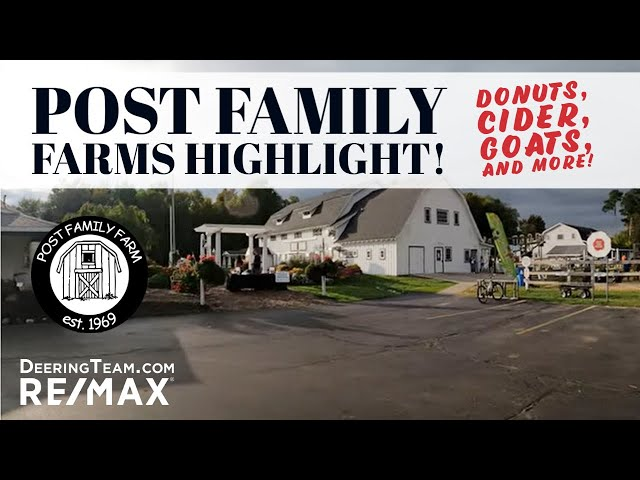 Post Family Farm DONUTS AND CIDER | Hudsonville Michigan