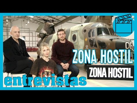Zona Hostil: Roberto Álamo, Ingrid García-Jonsson y Raúl Mérida