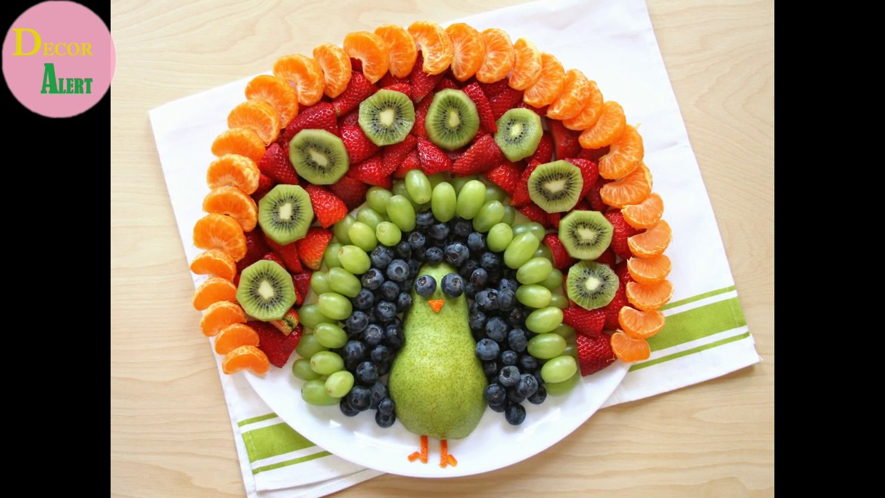 Fruit And Salad Decoration By Decor Alert 2017 Youtube