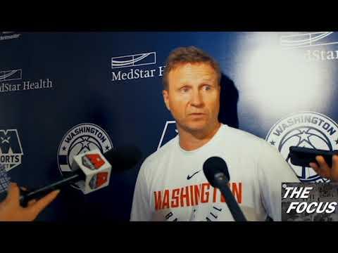 Washington Wizards Practice 10/4/17 - Scott Brooks Interview