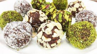 Elmalı Top Tarifi - Tatlı Tarifleri | Çikolatalı Gofretli Toplar