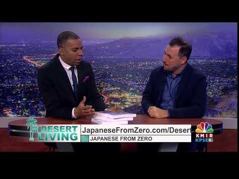 Japanese From Zero! TV Appearance on Desert Living Show PALM SPRINGS