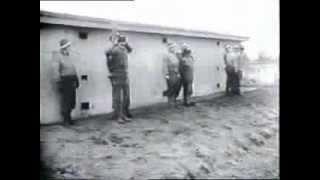 soldados alemanes instantes antes de ser fusilado