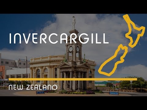 Invercargill, New Zealand (city overview, English subtitles)