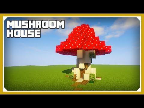 Minecraft: How To Build A Mushroom House Tutorial (Easy Survival Minecraft Design)