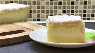 """""""Умный"""" пирог с ароматом ванили и лимона (пирожное)"""