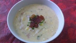#pinspired - Potato Ham Chowder / Fall 2015