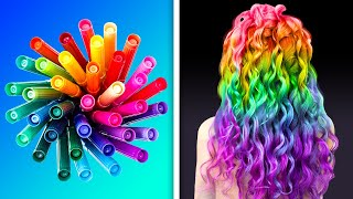 17 COLORFUL BEAUTY HACKS FOR A STUNNING LOOK