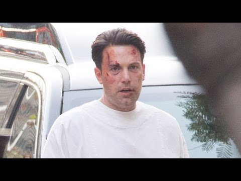 Ben Affleck Shows Off Crazy Back Tattoo - Is it Real ...