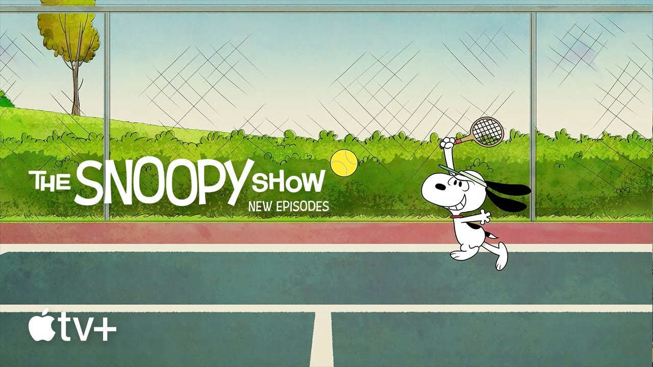 The Snoopy Show — Tennis Time with Snoopy and Friends | Apple TV+