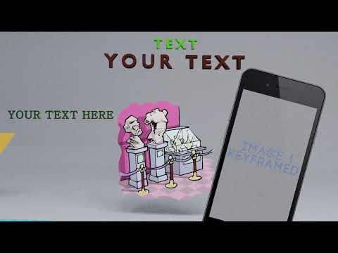 Blender 3D Free Motion Design Template For App Presentation