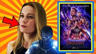 AVENGERS ENDGAME. CAPTAIN MARVEL. REACTION. THOUGHTS.