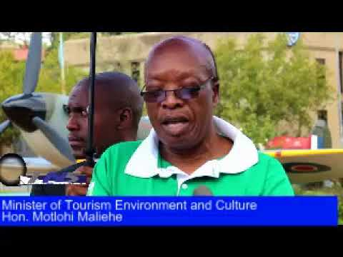 Minister of tourism environment and culture - Hon. Motlohi maliehe