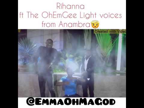 If Rihanna features Choristers from Anambra 😂😂😂