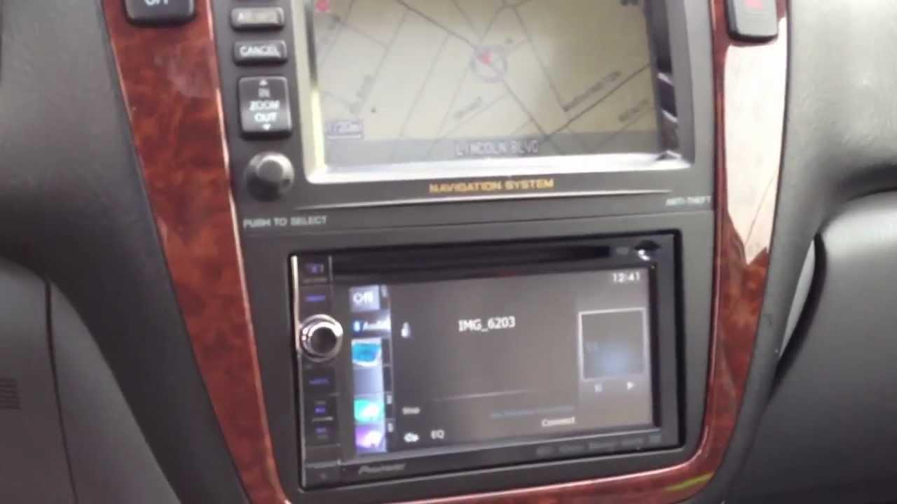 Acura Mdx 2001 Navigation Radio Wiring Diagram 2003 Acura Mdx Pioneer Navigation Upgrade Camera Bluetooth