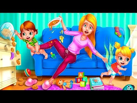 Baby Care Babysitter Crazy Day Care Game for Kids Bath, Feed, Dress Up Fun Baby Games