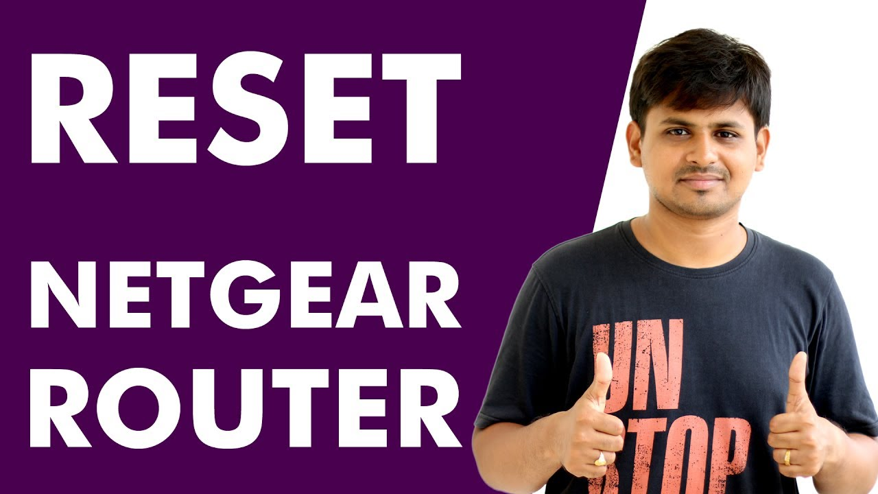 How to Reset NETGEAR Router to Factory Default Settings?