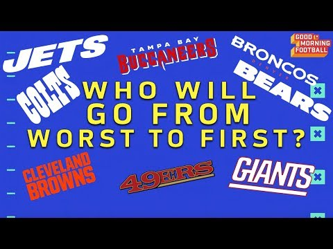 Which Last Place Team Will Win their Division in 2018? | NFL Network