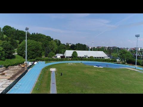 Drone Campo Xxv Aprile Milano 30 Aprile 2017 Youtube