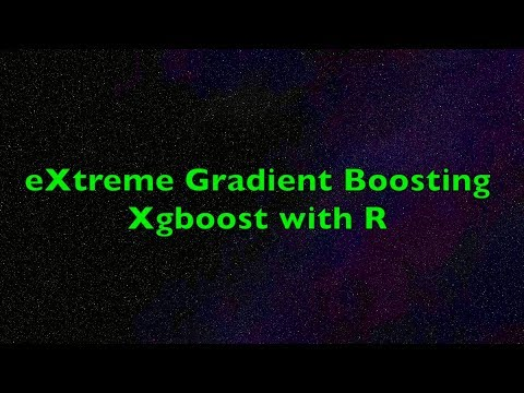 eXtreme Gradient Boosting XGBoost Algorithm with R - Example