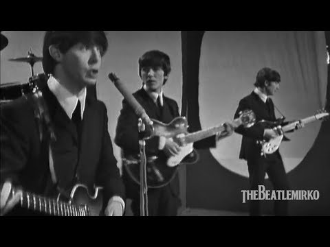 The Beatles - All My Loving [Morecambe and Wise Show, Elstree Studio Centre, Borehamwood]