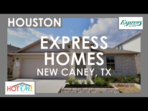 Express Homes At Harrington Trails In New Caney, TX