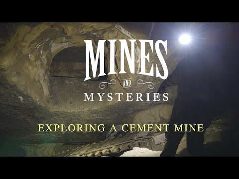 Mines And Mysteries: Exploring A Cement Mine