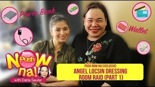 Push Now Na Exclusive: Bag raid with Angel Locsin Part 1