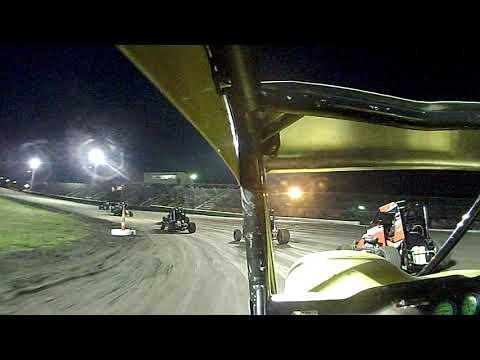 Gas City I-69 Speedway Midget heat 3