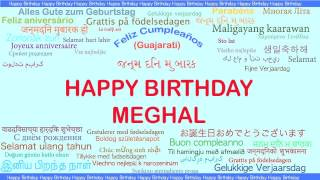 Meghal   Languages Idiomas - Happy Birthday