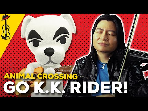 Animal Crossing/Super Smash Bros: Go K.K. Rider! (Metal Violin Cover) || String Player Gamer