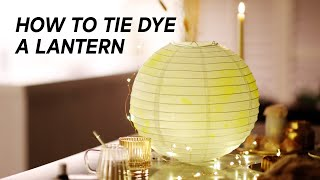 Moon Lantern Tie-Dye Tutorial | Moon Fest Box | EM Collective