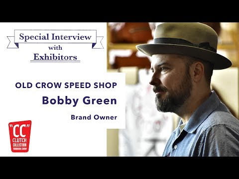 """#5 """"OLD CROW SPEED SHOP"""" at CC SHOW Spring 2017 Special Interview with the exhibitors"""