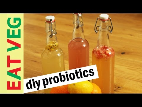 Make your own probiotic drink for a healthy gut |  water kefir
